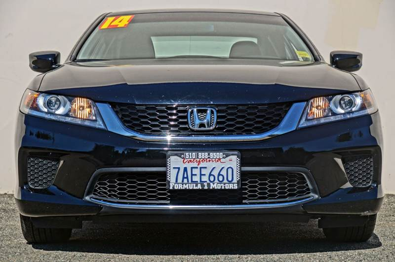 2013 HONDA ACCORD LX-S 2DR COUPE CVT crystal black pearl 2-stage unlocking abs active head rest