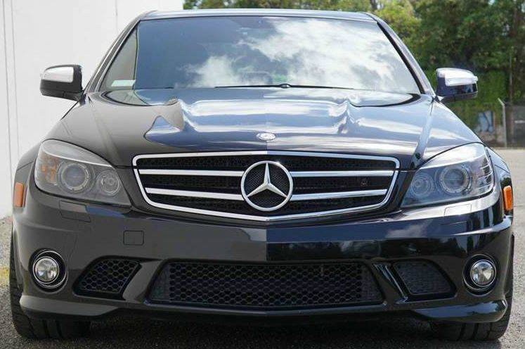 2009 MERCEDES-BENZ C-CLASS C63 AMG 4DR SEDAN PERFORMANCE PA black abs - 4-wheel active head rest
