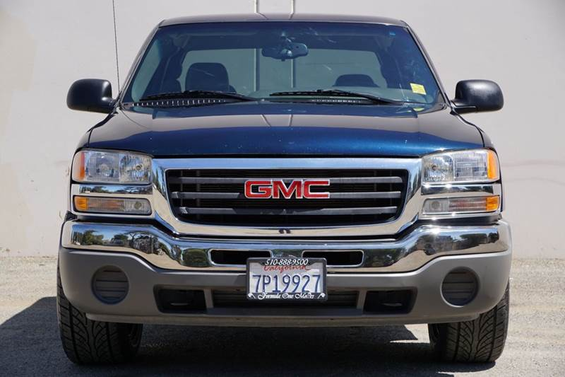 2006 GMC SIERRA 1500 WORK TRUCK 4DR EXTENDED CAB 65 abs - 4-wheel airbag deactivation - occupant