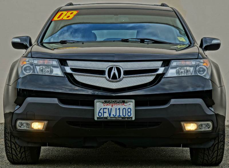 2008 ACURA MDX SH-AWD WTECH WRES 4DR SUV WTE formal black the 2008 acura mdx is a large luxury