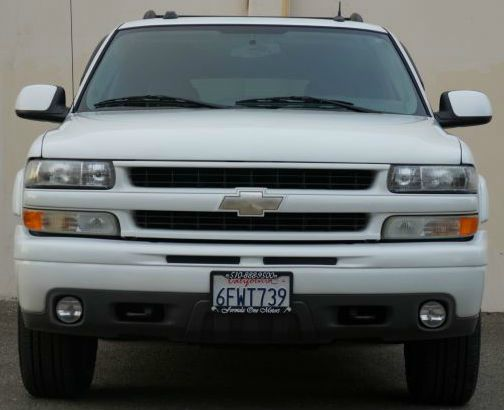 2005 CHEVROLET TAHOE Z71 4WD 4DR SUV summit white abs - 4-wheel adjustable pedals - power anti-t