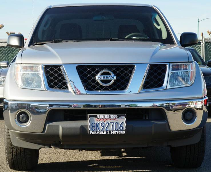2008 NISSAN FRONTIER SE V6 4X2 4DR CREW CAB 50 FT S storm gray abs - 4-wheel active head restr