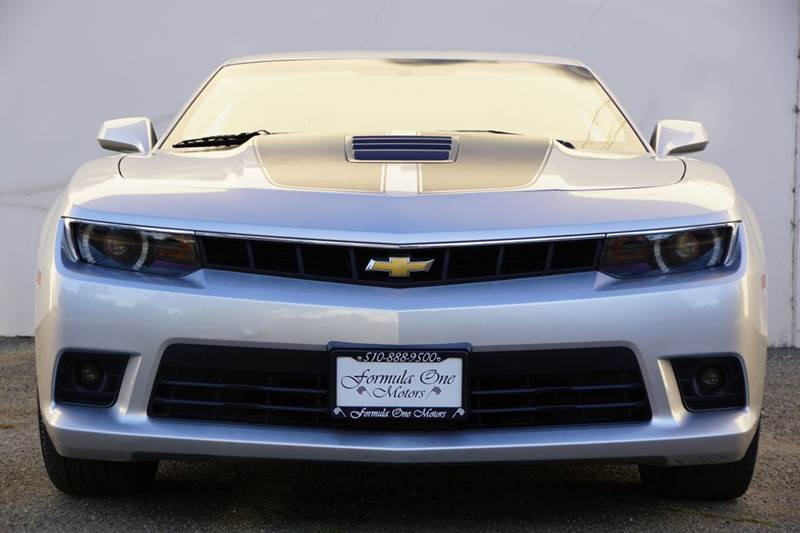 2014 CHEVROLET CAMARO SS 2DR COUPE W1SS silver ice metallic 2-stage unlocking doors abs - 4-whe