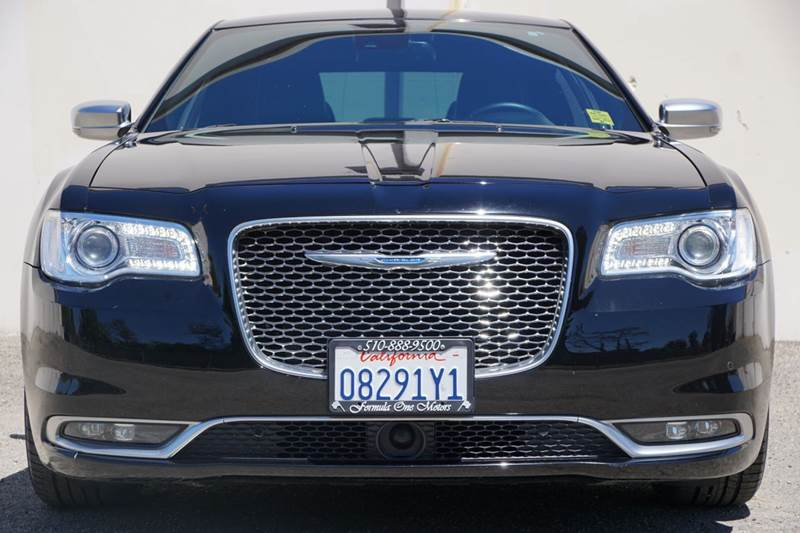 2015 CHRYSLER 300 C PLATINUM 4DR SEDAN phantom black tri-coat pearl 2-stage unlocking doors abs