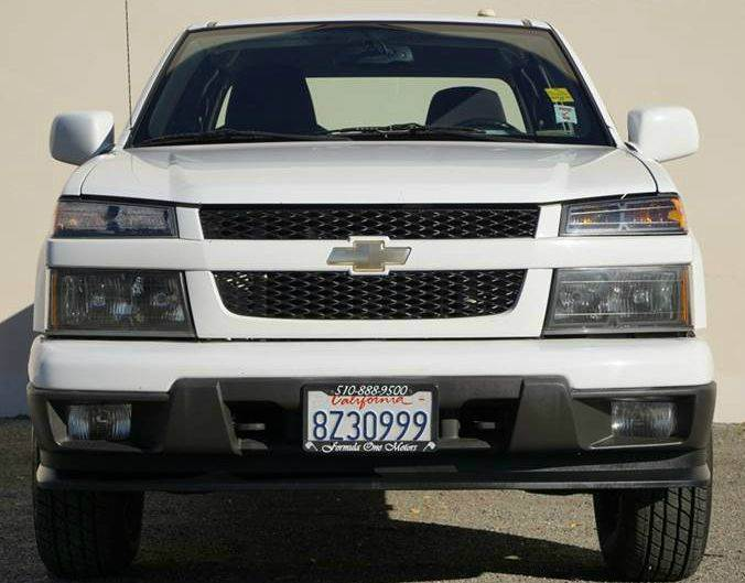 2010 CHEVROLET COLORADO WORK TRUCK 4X4 4DR EXTENDED CAB white 4wd selector - electronic hi-lo 4w