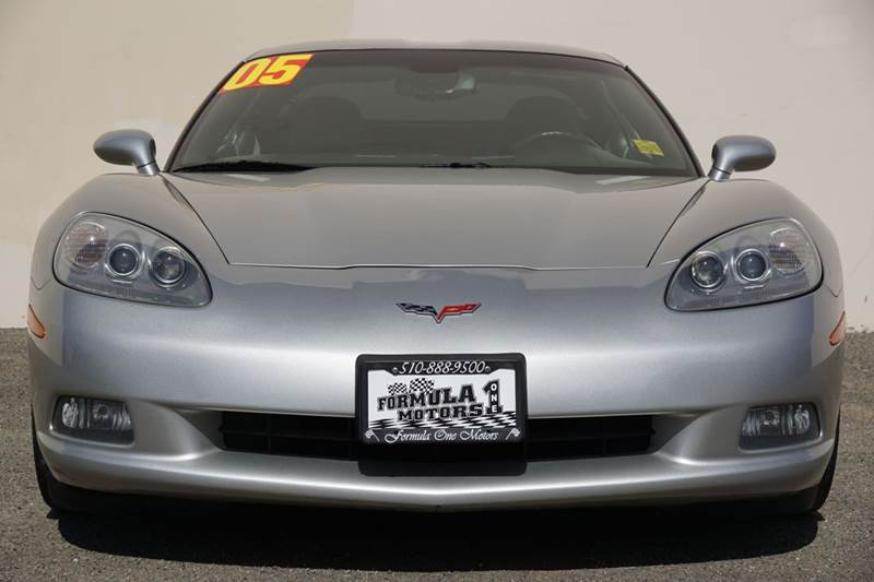 2005 CHEVROLET CORVETTE BASE 2DR COUPE machine silver metallic 83670 miles VIN 1G1YY24U1551332