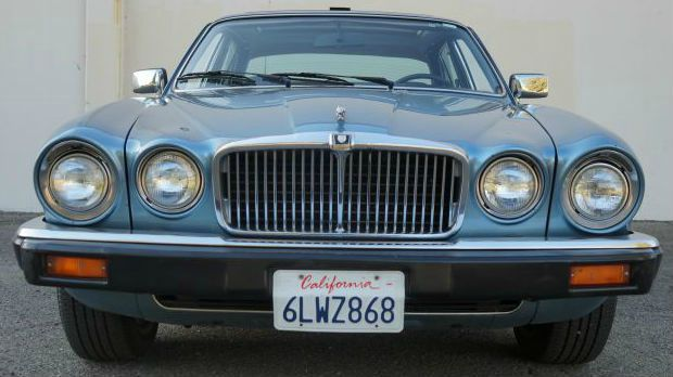 1984 JAGUAR XJ-SERIES XJ6 4DR SEDAN aegean blue pearl beautiful is what describes this aegean blue