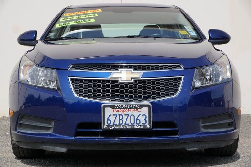 2013 CHEVROLET CRUZE 1LT AUTO 4DR SEDAN W1SD blue topaz metallic 2-stage unlocking doors abs -