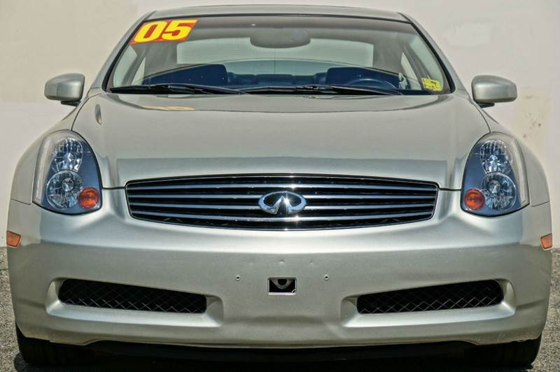 2005 INFINITI G35 BASE RWD 2DR COUPE unspecified abs - 4-wheel anti-theft system - alarm cd cha