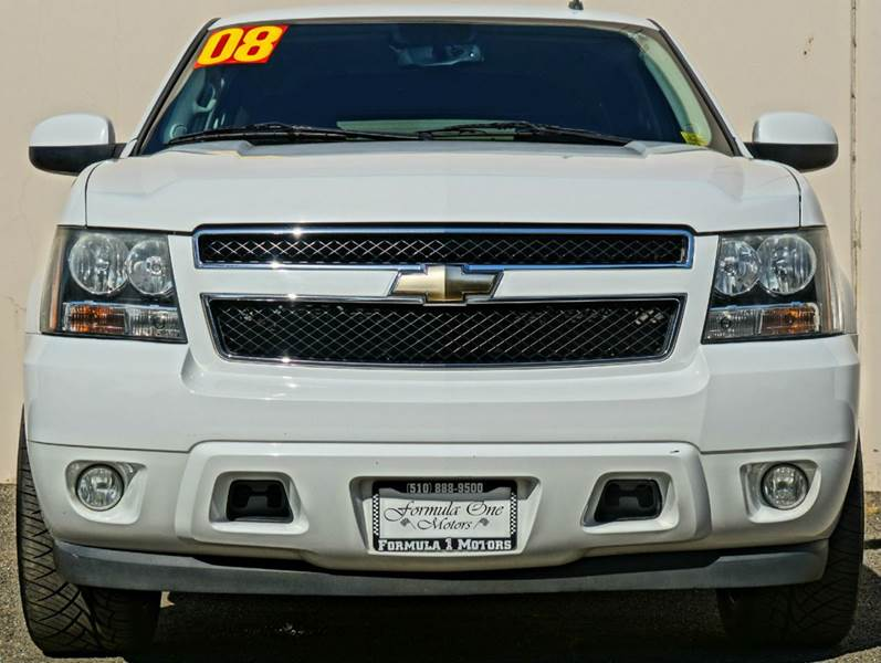 2008 CHEVROLET TAHOE LT 4X2 4DR SUV summit white abs - 4-wheel airbag deactivation - occupant se