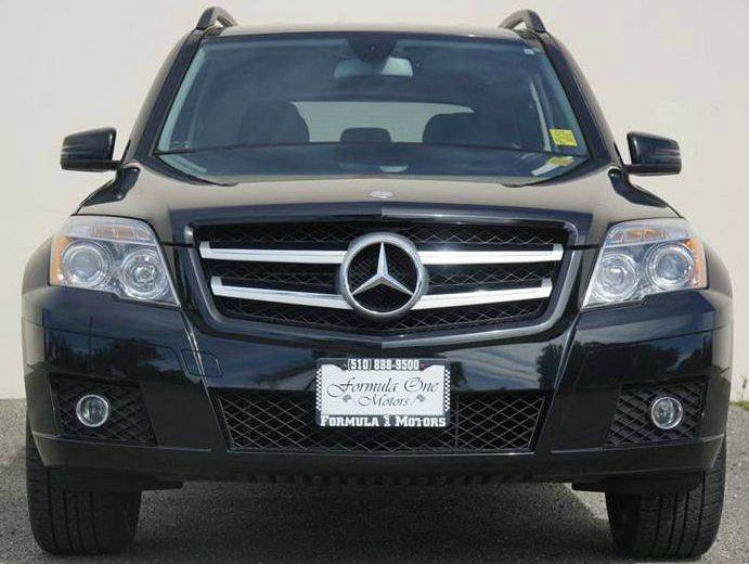 2011 MERCEDES-BENZ GLK GLK350 4DR SUV obsidian black metallic 2-stage unlocking doors abs - 4-wh