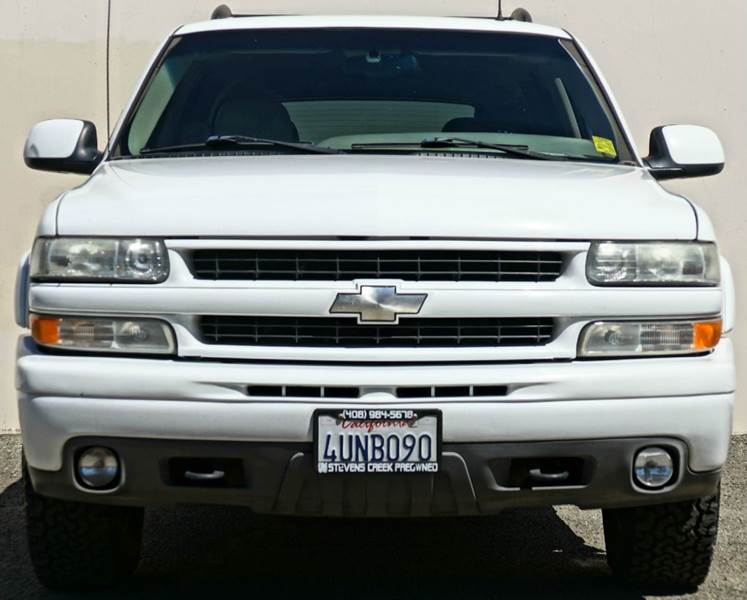 2002 CHEVROLET TAHOE LT 4WD 4DR SUV summit white abs - 4-wheel anti-theft system - alarm axle r