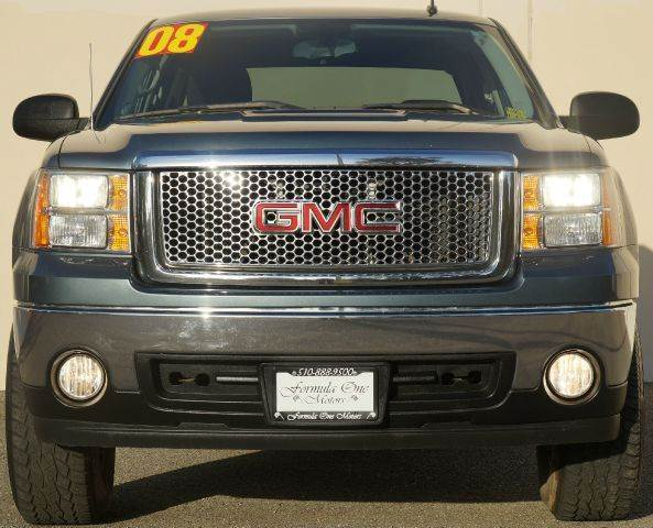 2008 GMC SIERRA 1500 SL PICKUP CREW CAB 2WD deep blue metallic abs - 4-wheel airbag deactivation