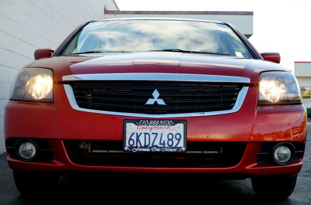 2009 MITSUBISHI GALANT SPORT EDITION 4DR SEDAN rave red pearl red pearl sport edition four door se
