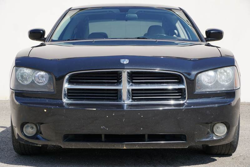 2007 DODGE CHARGER RT 4DR SEDAN brilliant black crystal pearlc 2-stage unlocking doors abs - 4-w
