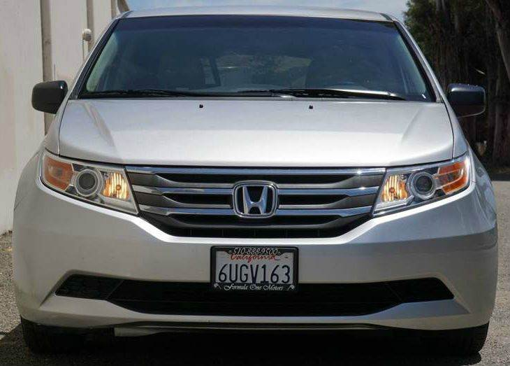 2012 HONDA ODYSSEY LX 4DR MINI VAN alabaster silver metallic abs - 4-wheel active head restraint