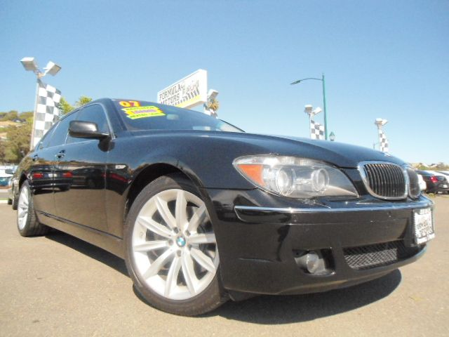 2007 BMW 7 SERIES 750I jet black abs brakesair conditioningalloy wheelsamfm radioanti-brake s