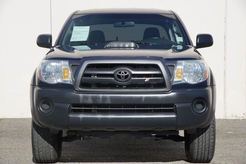 2008 TOYOTA TACOMA PRERUNNER V6 4X2 4DR DOUBLE CAB speedway blue metallic abs - 4-wheel airbag d