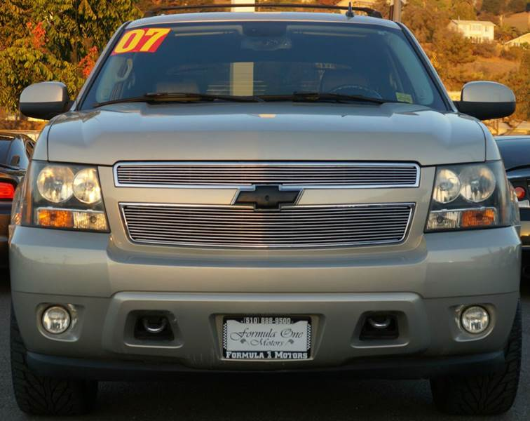 2007 CHEVROLET AVALANCHE LTZ 1500 4DR CREW CAB SB gold mist metallic 2-stage unlocking - remote
