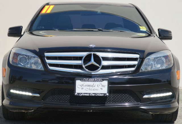 2011 MERCEDES-BENZ C-CLASS C300 LUXURY 4DR SEDAN obsidian black metallic abs - 4-wheel active he