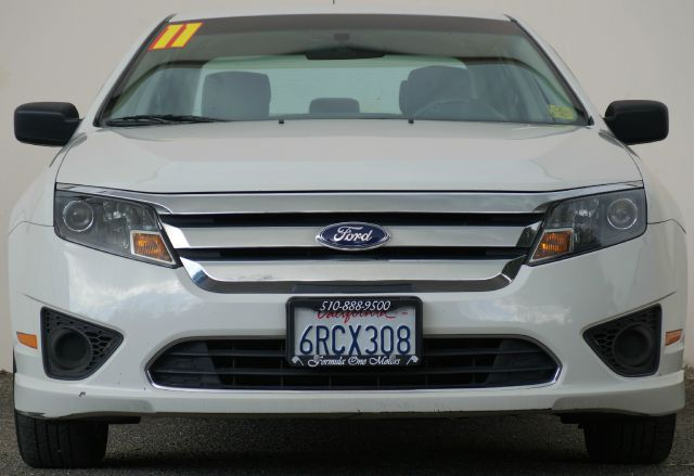 2011 FORD FUSION S 4DR SEDAN white suede 2-stage unlocking - remote abs - 4-wheel air filtration