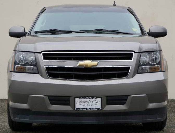 2008 CHEVROLET TAHOE HYBRID 4X4 4DR SUV doeskin tan this chevrolet tahoe is the economical family