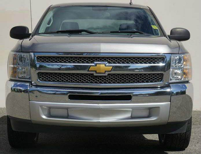 2013 CHEVROLET SILVERADO 1500 LS 4X2 4DR CREW CAB 58 FT SB mocha steel metallic abs - 4-wheel