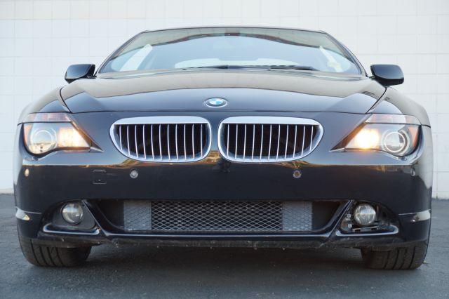 2006 BMW 6 SERIES 650I 2DR COUPE jet black jet black 650i 2 door coupe with black leather interior