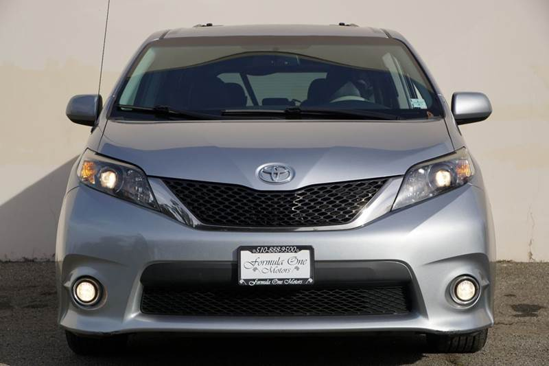 2012 TOYOTA SIENNA SE 8-PASSENGER 4DR MINI VAN unspecified 2-stage unlocking doors abs - 4-wheel