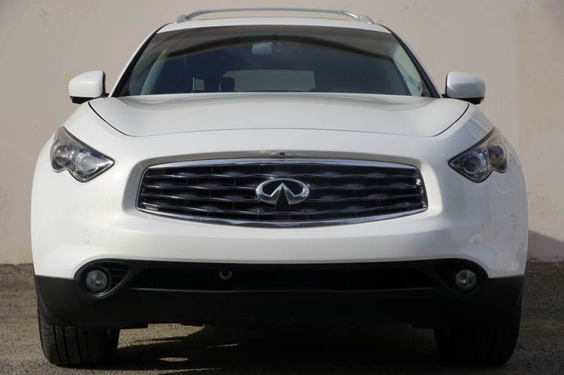 2010 INFINITI FX35 BASE 4DR SUV moonlight white pearl 2-stage unlocking doors abs - 4-wheel act