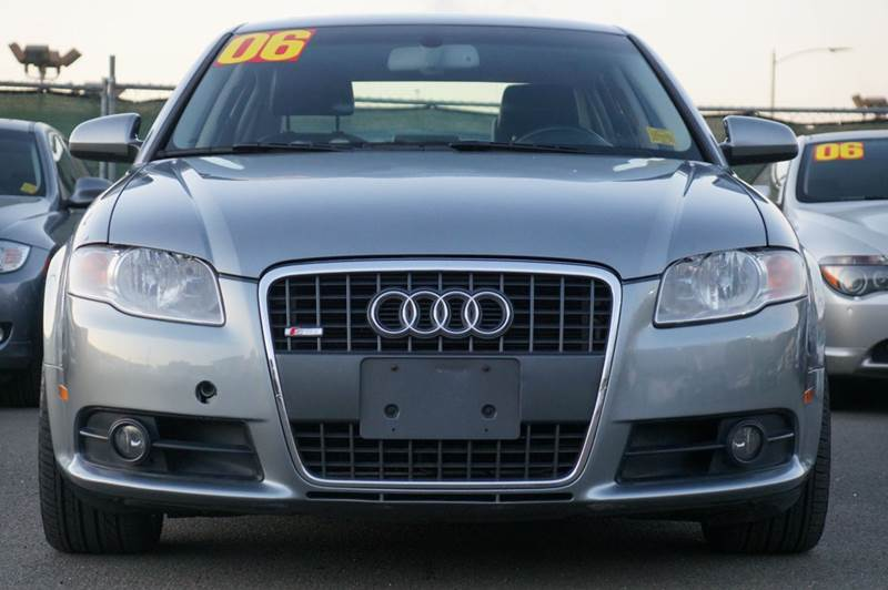 2006 AUDI A4 20T QUATTRO AWD 4DR SEDAN S-LIN light silver metallic the all-new audi a4 is fun to