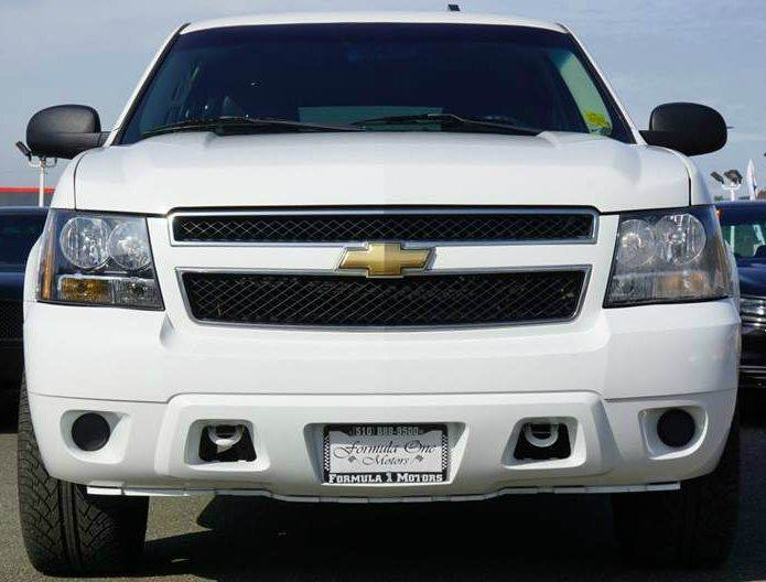 2009 CHEVROLET TAHOE LS 4X4 4DR SUV summit white 4wd type - part time w on demand setting abs -