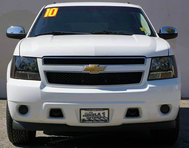 2010 CHEVROLET TAHOE LS 4X4 4DR SUV summit white 2-stage unlocking doors 4wd selector - electron