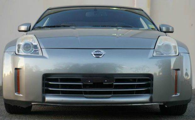 2006 NISSAN 350Z TOURING 2DR HATCHBACK 35L V6 5 silver alloy metallic abs - 4-wheel airbag deac