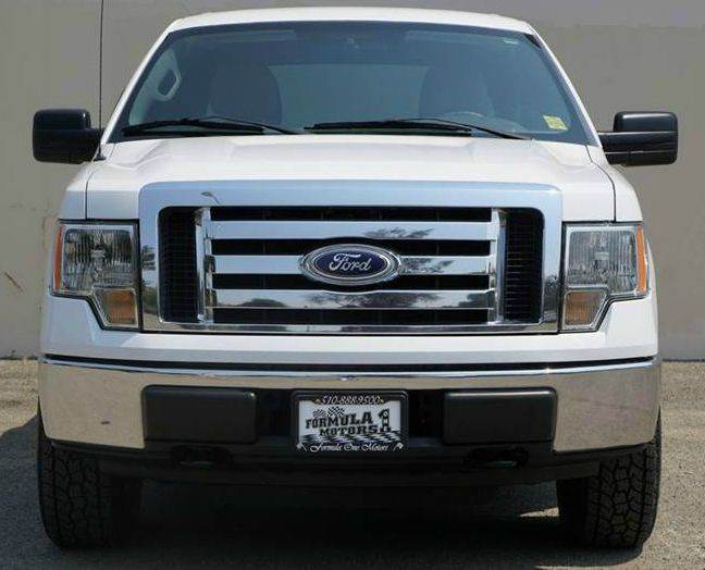 2010 FORD F-150 XLT 4X4 4DR SUPERCREW STYLESIDE oxford white 2-stage unlocking doors 4wd selecto