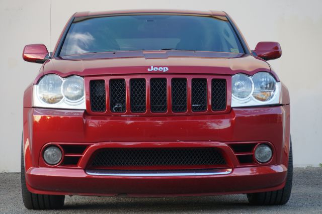 2006 JEEP GRAND CHEROKEE SRT8 4DR SUV 4WD inferno red crystal pearlcoat 4wd type - on demand abs