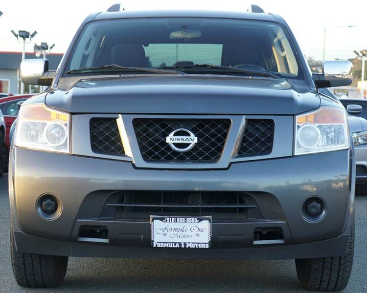 2010 NISSAN ARMADA SE 4X2 4DR SUV smoke abs - 4-wheel active head restraints - dual front adjus