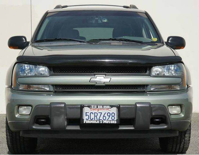 2003 CHEVROLET TRAILBLAZER EXT LT 4WD 4DR SUV medium sage green metallic abs - 4-wheel anti-thef