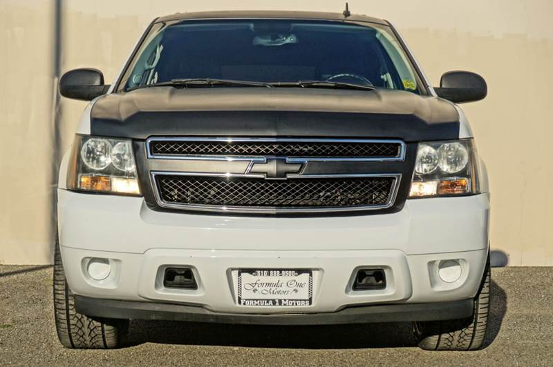2007 CHEVROLET TAHOE LS 4DR SUV summit white 2-stage unlocking - remote abs - 4-wheel airbag de