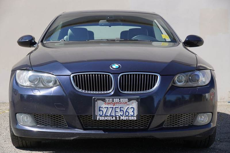2007 BMW 3 SERIES 335I 2DR CONVERTIBLE monaco blue metallic 2-stage unlocking doors abs - 4-whee