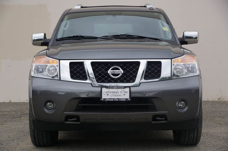 2011 NISSAN ARMADA PLATINUM 4X2 4DR SUV smoke 2-stage unlocking doors abs - 4-wheel active head