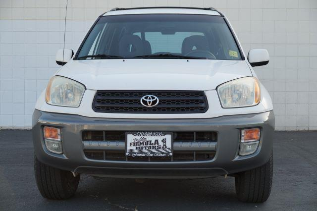 2001 TOYOTA RAV4 BASE 2WD 4DR SUV natural white this natural white 20l i4 with gray interior is f