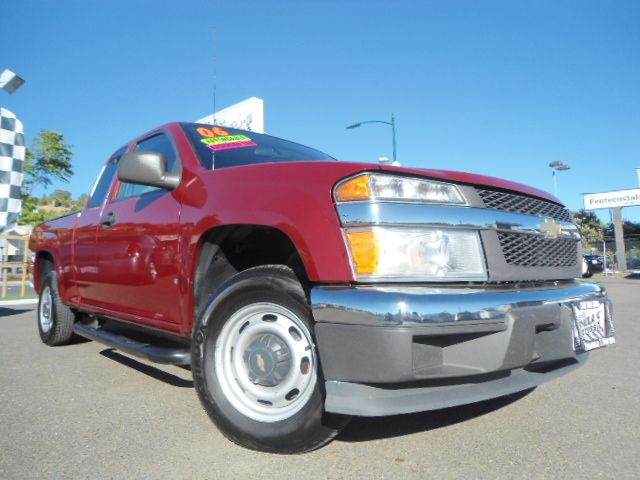 2006 CHEVROLET COLORADO LS EXT CAB 2WD burgandy chevrolet colorado ls 28l 16v 5-speed manual