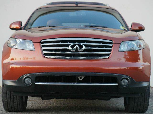 2008 INFINITI FX35 BASE AWD 4DR SUV autumn copper metallic while not the most practical midsize lu
