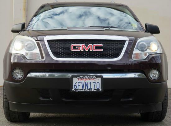 2008 GMC ACADIA SLE-1 4DR SUV dark crimson metallic this beautiful maroon 35l v6  6 speed automa