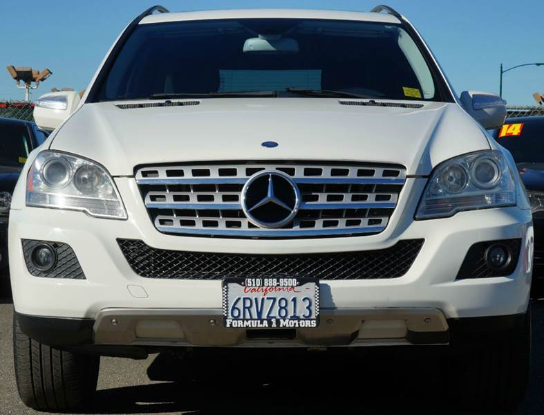 2010 MERCEDES-BENZ M-CLASS ML350 4MATIC AWD 4DR SUV arctic white 4wd type - full time abs - 4-wh
