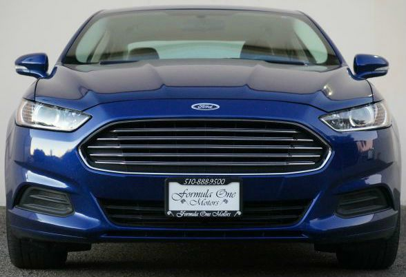 2013 FORD FUSION SE 4DR SEDAN deep impact blue with solid power excellent fuel economy provocati