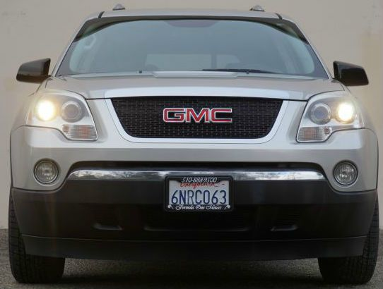 2007 GMC ACADIA SLE-1 AWD 4DR SUV liquid silver metallic 2-stage unlocking - remote abs - 4-wheel