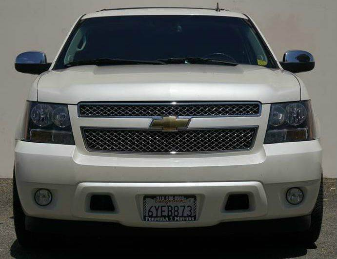 2011 CHEVROLET TAHOE LTZ 4X2 4DR SUV white diamond tricoat 2-stage unlocking doors abs - 4-wheel