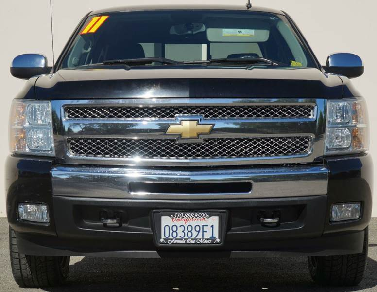 2011 CHEVROLET SILVERADO 1500 LT 4X2 4DR CREW CAB 58 FT SB black abs - 4-wheel alternator - 14